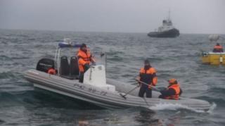 俄罗斯在坠机地点展开大规模搜救。