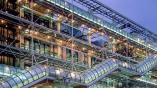 Pompidou Centre. File photo