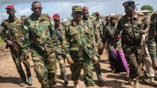Somali soldiers
