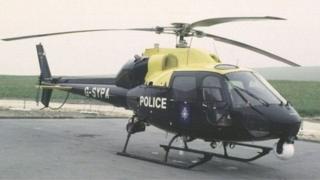 पुलिस हेलिकॉप्टर
