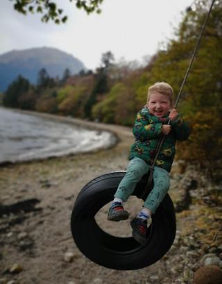 North Ballachulish rope swing