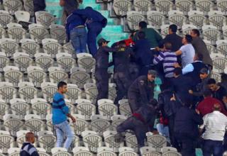 مشهد من مدرجات ملعب استاد القاهرة بعد مباراة الأهلي أمام مونانا الغابوني في دوري أبطال