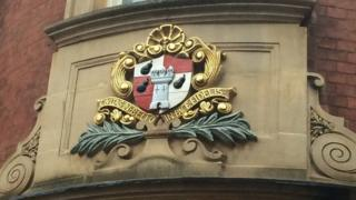 Side entrance to Guildhall on Copenhagen Street