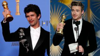 Ben Whishaw and Richard Madden