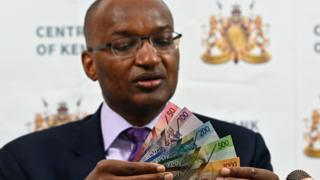 New Kenyan notes