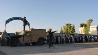 تصویر انتخابات افغانستان