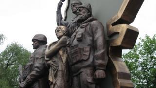 Монумент сепаратистам