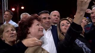 Прем'єр-міністр Македонії Зоран Заєв агітує громадян підтримати нову назву