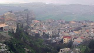 Corleone kasabasının 2006 yılında çekilmiş bir fotoğrafı