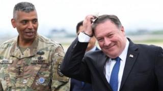 مایک پومپئو برای گفتوگو درباره دیدار رئیس جمهوری آمریکا با رهبر کره شمالی به سئول سفر کرده است