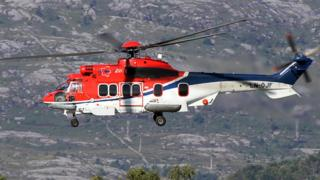 Picture of the actual helicopter which crashed