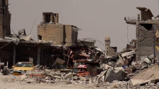 Suriye'de yıkım