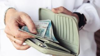 Stock image of cash