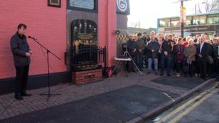 25th anniversary service to Sean Graham bookmakers' shootings