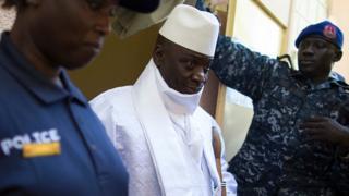 Le président Yahya Jammeh est au pouvoir depuis 22 ans.