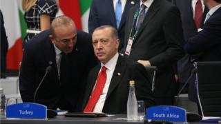 Çavuşoğlu ve Erdoğan
