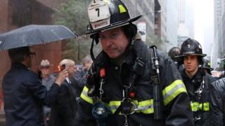 Пажар на Манхэттене