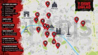 Map high-res Paris