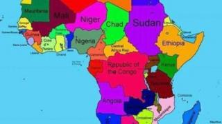 Kaartaa Afriikaa Dogoggoraa