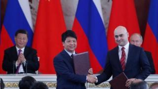 امضا توافق بین شرکت روسی ام تی اس و شرکت چینی هواوی