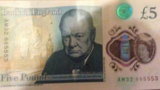 The valuable £5 note