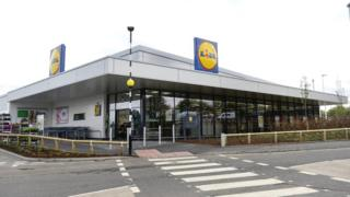 Lidl store in Paisley