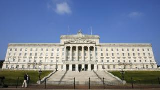 Stormont, the home of the Northern Ireland government.