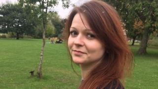 Undated image taken from social media of Yulia Skripal