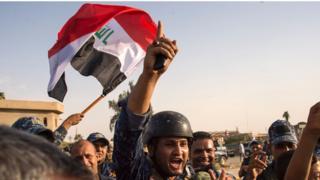 احتفالات الجيش العراقي بتحرير الموصل