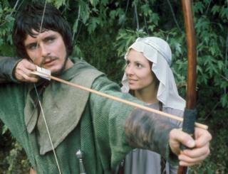 Martin Potter as Robin Hood and Diane Keen as Maid Marian