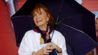 "Actress Katherine Helmond arrives at the world premiere of Disney Pixar's computer animated film ""Cars"" in North Carolina."