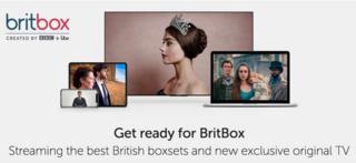 A screenshot of the BritBox website