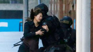 A hostages escapes from the Sydney siege