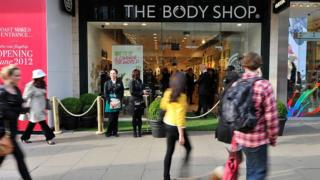 The Body Shop exterior