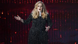 Adele performs at the Oscars