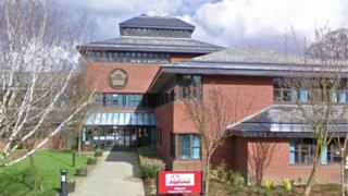 Mid Suffolk District Council offices in Needham Market