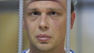 ایوان گلینوف پنجشنبه گذشته بازداشت شده بود