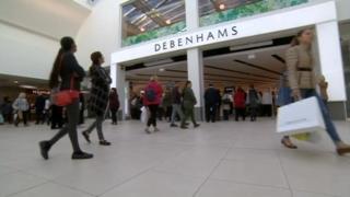 Debenhams opening in Wolverhampton