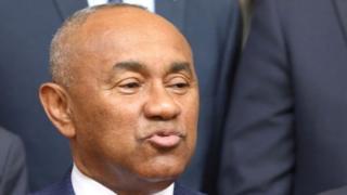 Ahmad ni Perezida wa CAF guhera mu kwezi kwa gatatu mu mwaka wa 2017