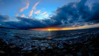 taken from the shore at Prestonpans