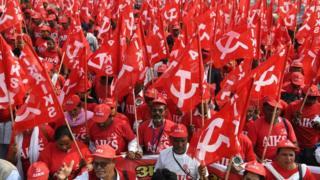 Farmers protesting in Delhi