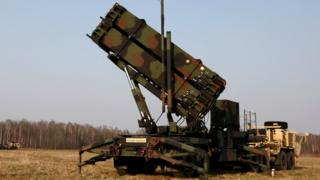 US Patriot missile defence system