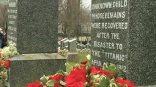 Titanic graves in Nova Scotia