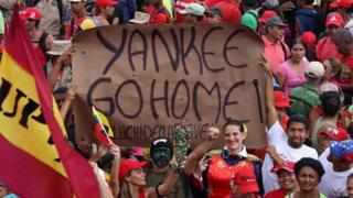 व्हेनेझुएलात अमेरिकेचा हस्तक्षेप?