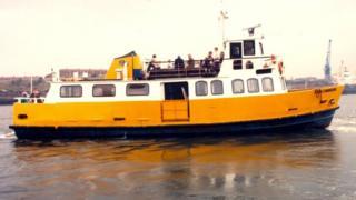 Freda Cunningham ferry 1984