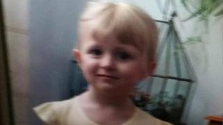 Amelia Jones, aged four
