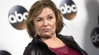Roseanne Barr attends a Hollywood red carpet event