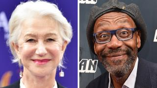 Dame Helen Mirren and Sir Lenny Henry