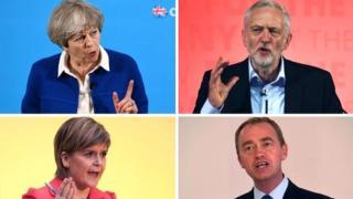 Líderes de diferentes partidos