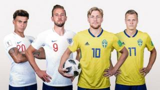 Anh và Thụy Điển đều đã sẵn sàng cho trận chiến mang tính chất lịch sử của họ